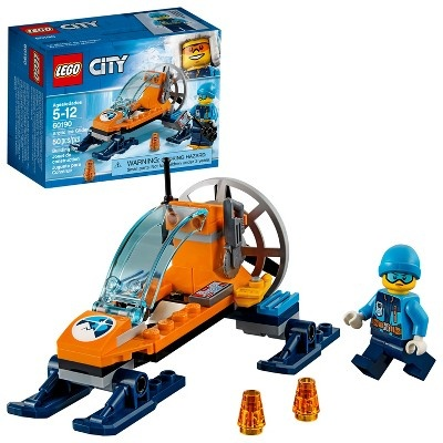slide 1 of 8, LEGO City Arctic Expedition Ice Glider 60190,