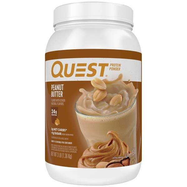 slide 1 of 1, Quest Protein Powder Peanut Butter,