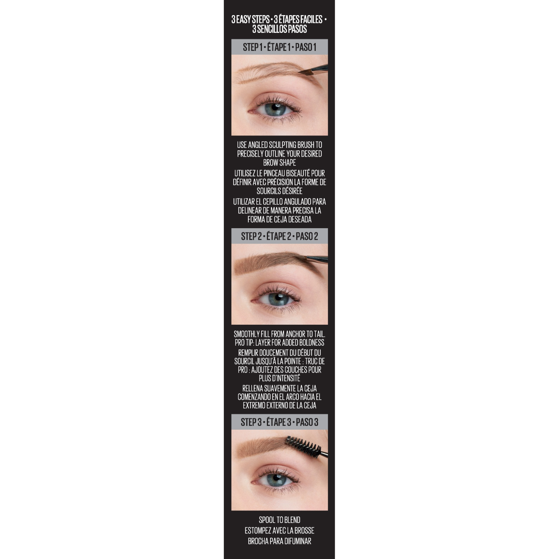 slide 3 of 6, Maybelline New York Maybelline Tattoostudio Brow Pomade - Soft Brown,
