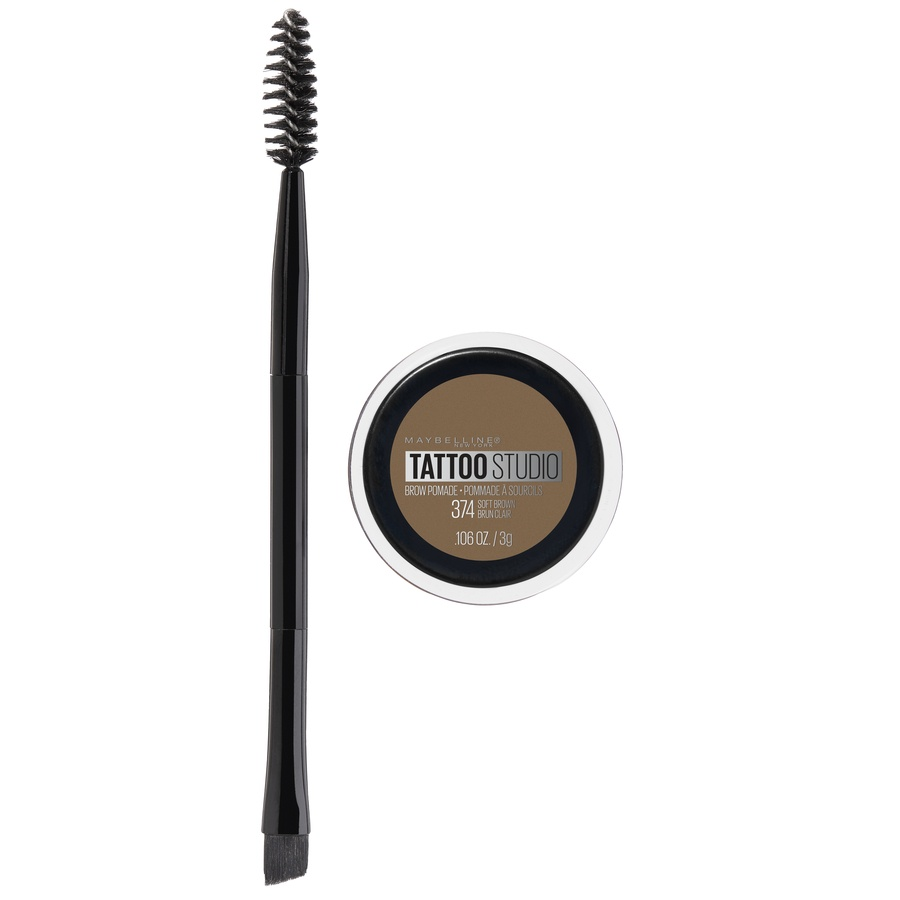 slide 1 of 6, Maybelline New York Maybelline Tattoostudio Brow Pomade - Soft Brown,