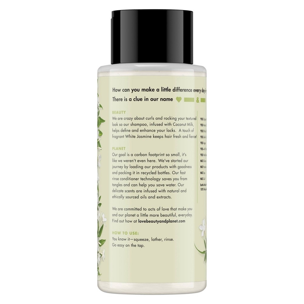 slide 7 of 7, Love Beauty and Planet Divine Definition Shampoo Coconut Milk & White Jasmine,