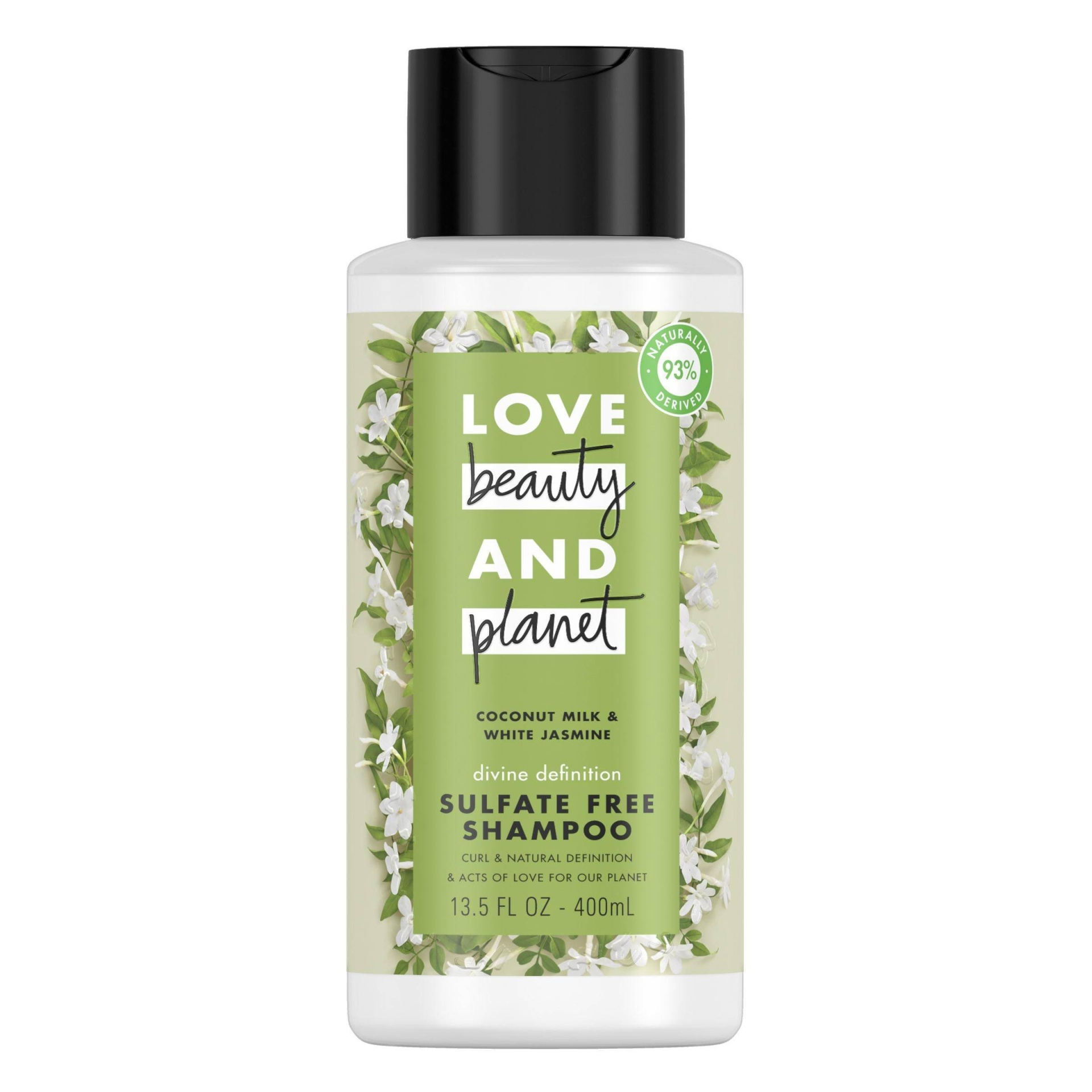 slide 1 of 7, Love Beauty and Planet Divine Definition Shampoo Coconut Milk & White Jasmine,