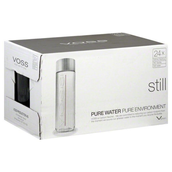 slide 1 of 1, Voss Pure Water,