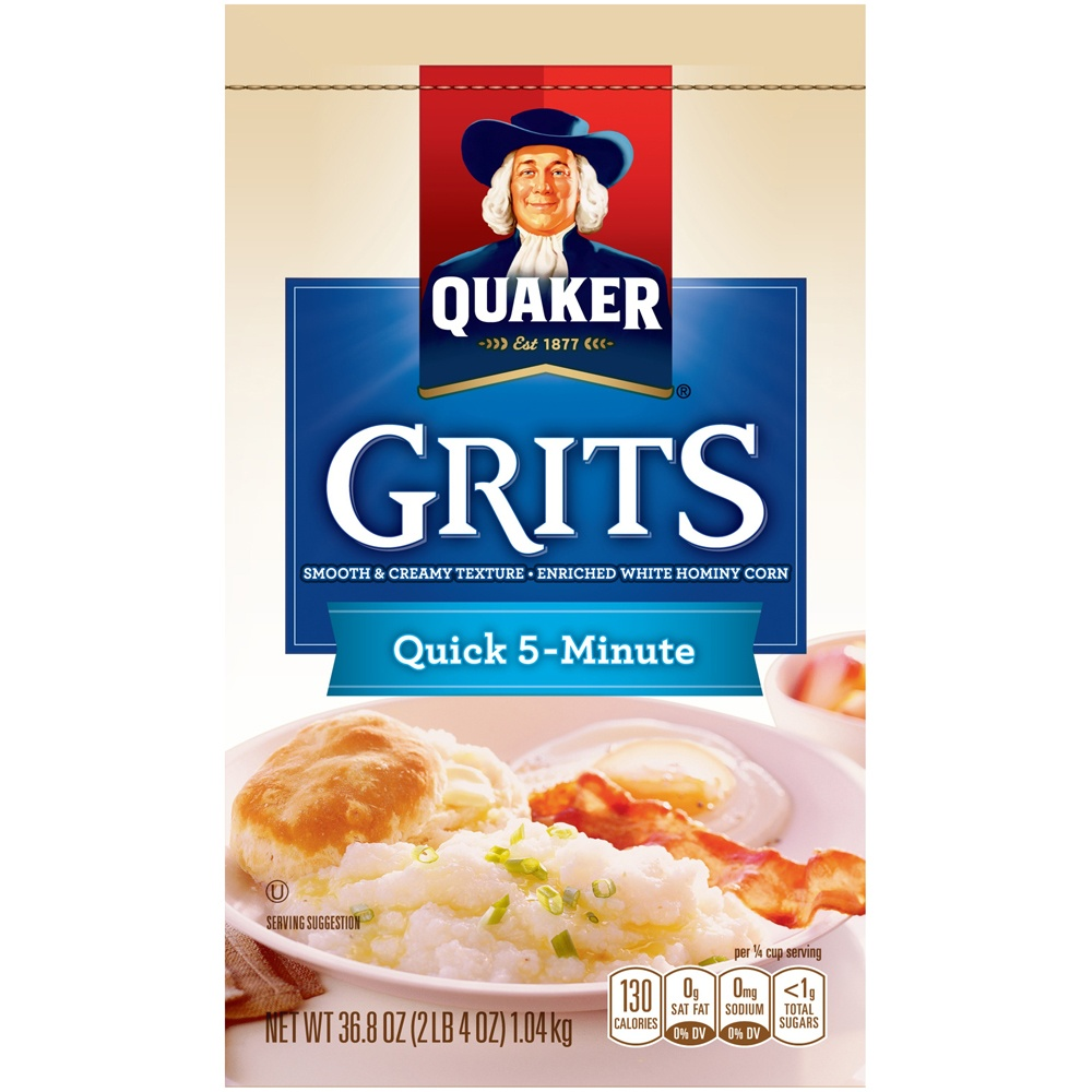 slide 2 of 5, Quaker Quick 5-Minute Grits,