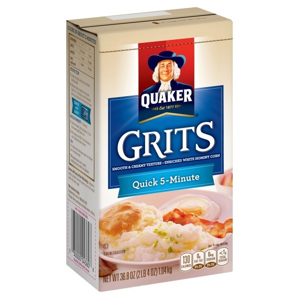 slide 1 of 5, Quaker Quick 5-Minute Grits,