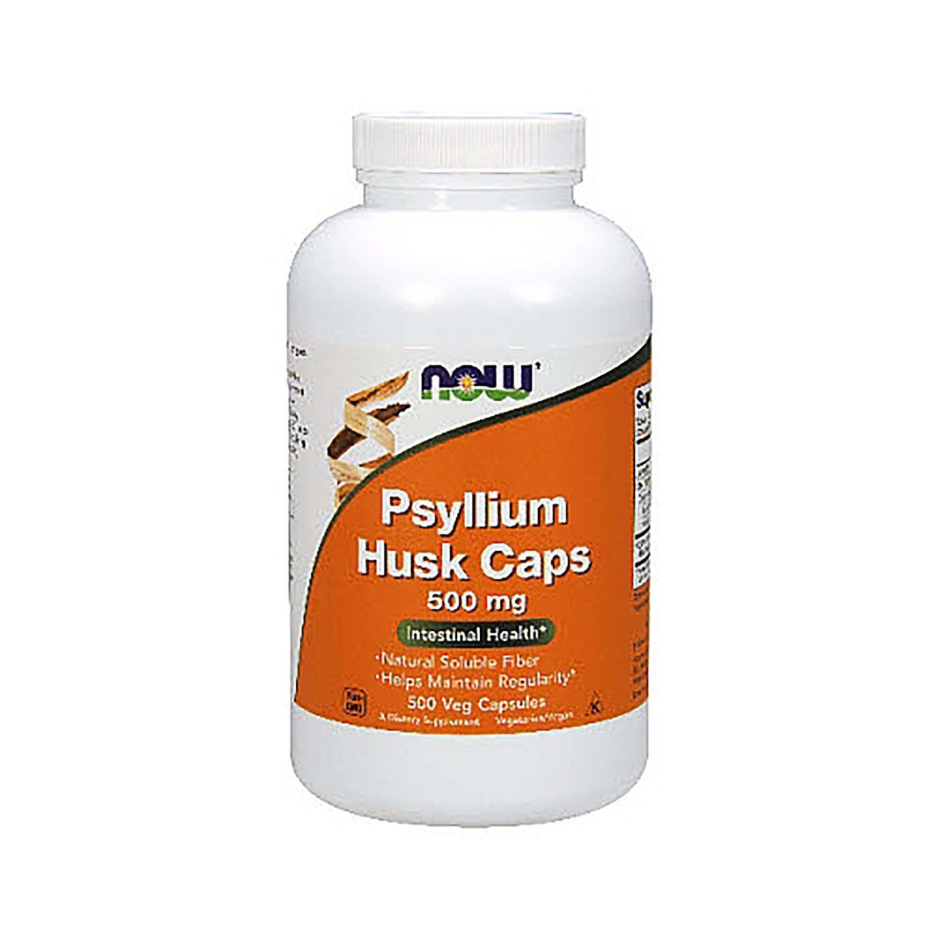 slide 1 of 1, Now Naturals Psyllium Husk Caps,