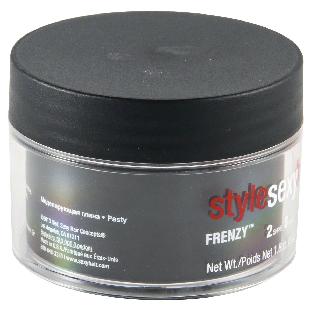 slide 2 of 5, Style Sexy Hair Frenzy Matte Texturizing Paste,