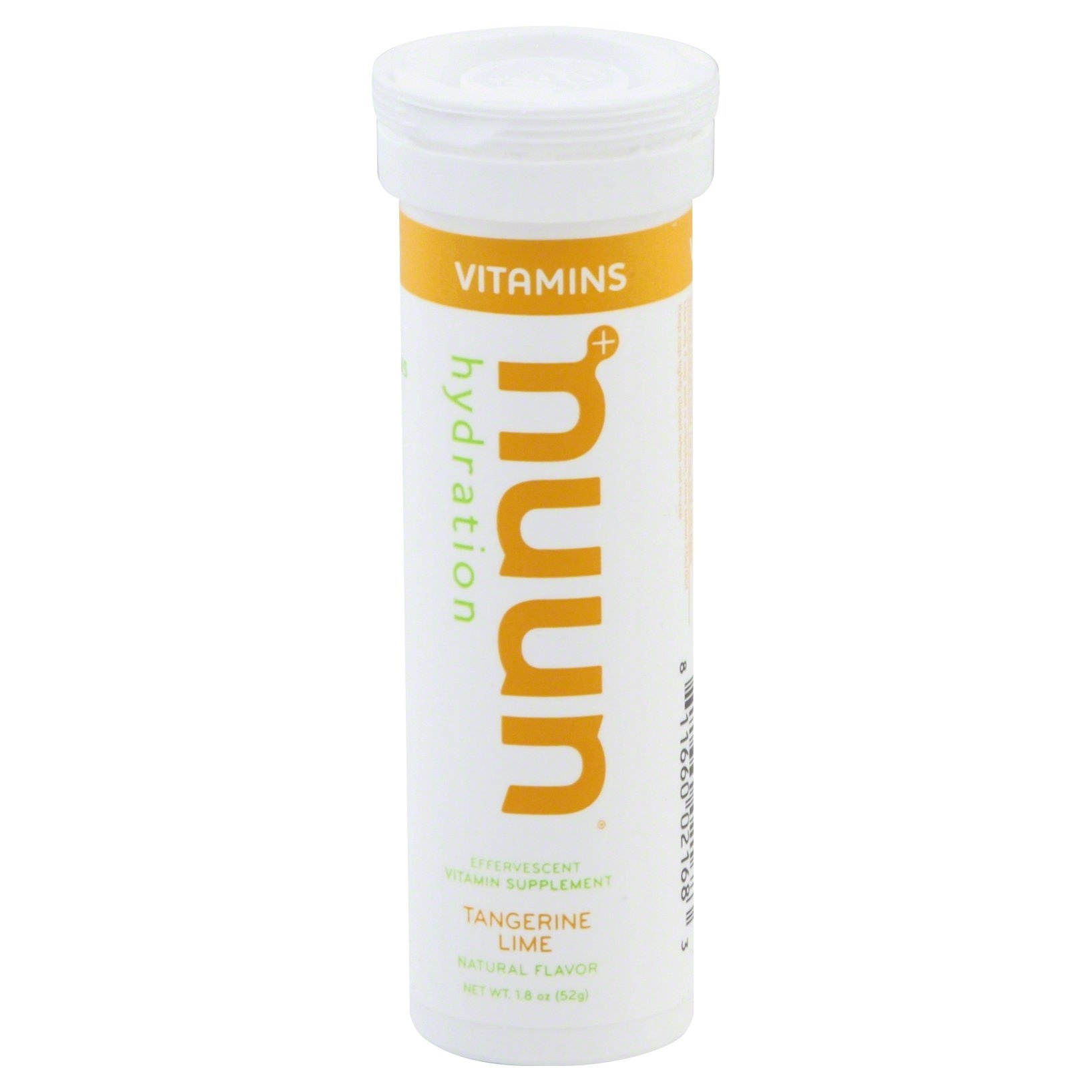 slide 1 of 6, Nuun Hydration Vitamin Supplement, Effervescent, Tangerine Lime,