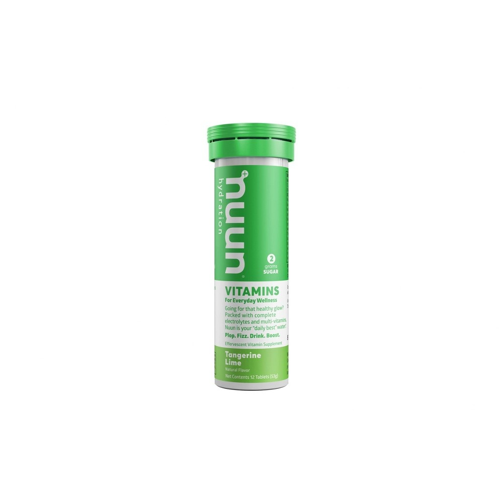 slide 6 of 6, Nuun Hydration Vitamin Supplement, Effervescent, Tangerine Lime,