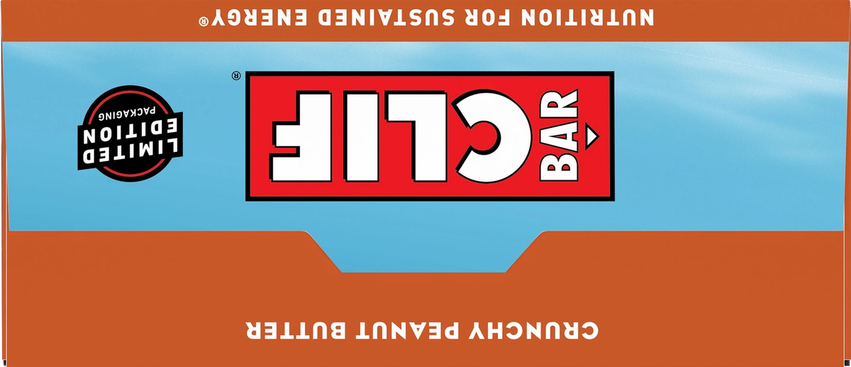 slide 6 of 10, CLIF Bar Crunchy Peanut Butter Energy Bar,