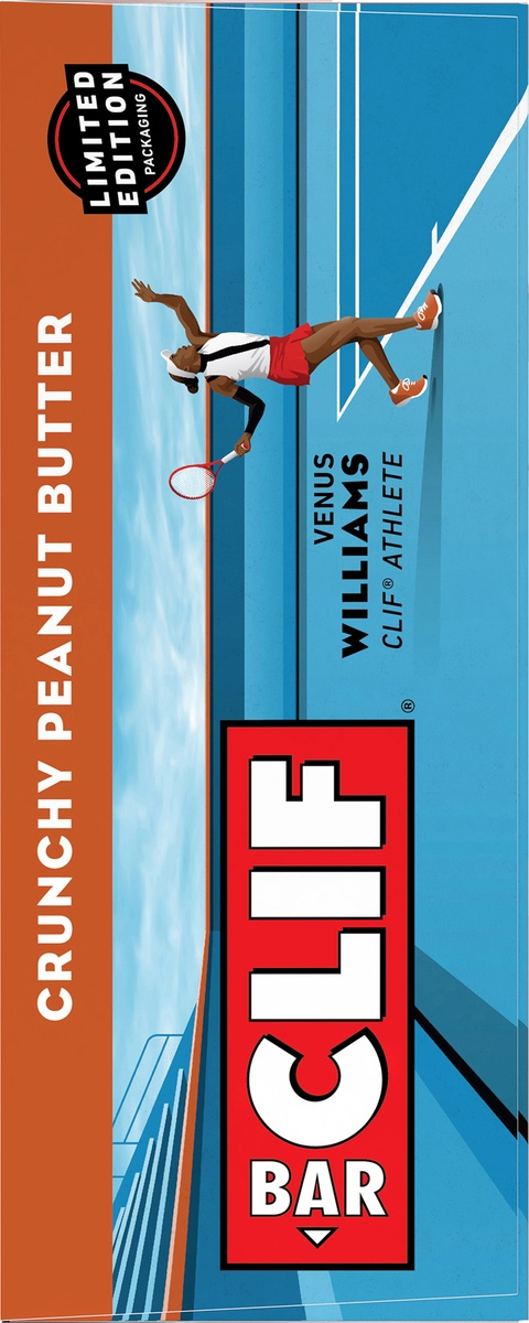 slide 7 of 10, CLIF Bar Crunchy Peanut Butter Energy Bar,