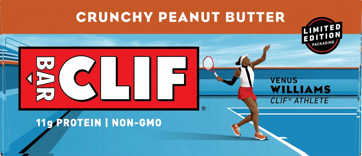 slide 8 of 10, CLIF Bar Crunchy Peanut Butter Energy Bar,