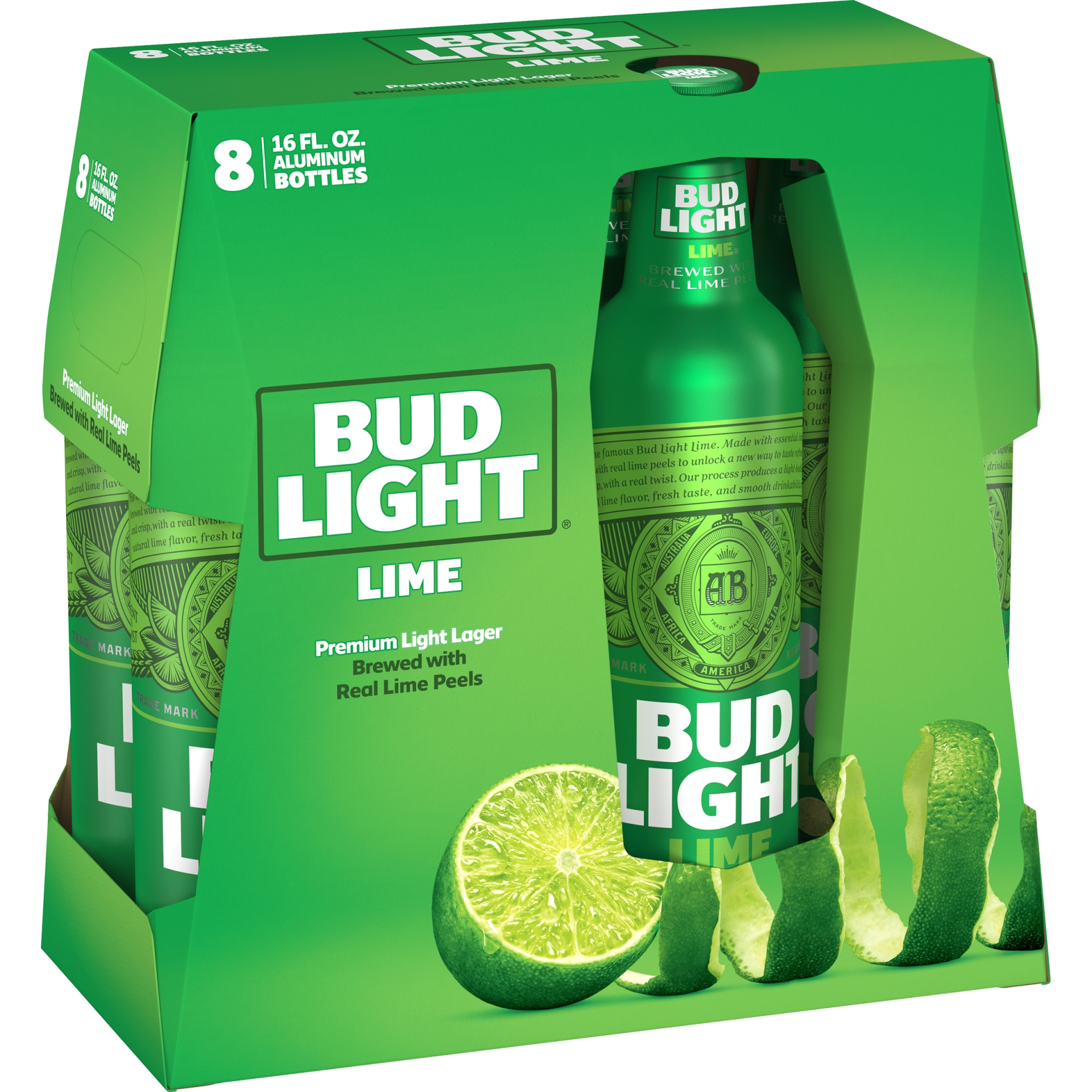 slide 1 of 1, Bud Light Lime,