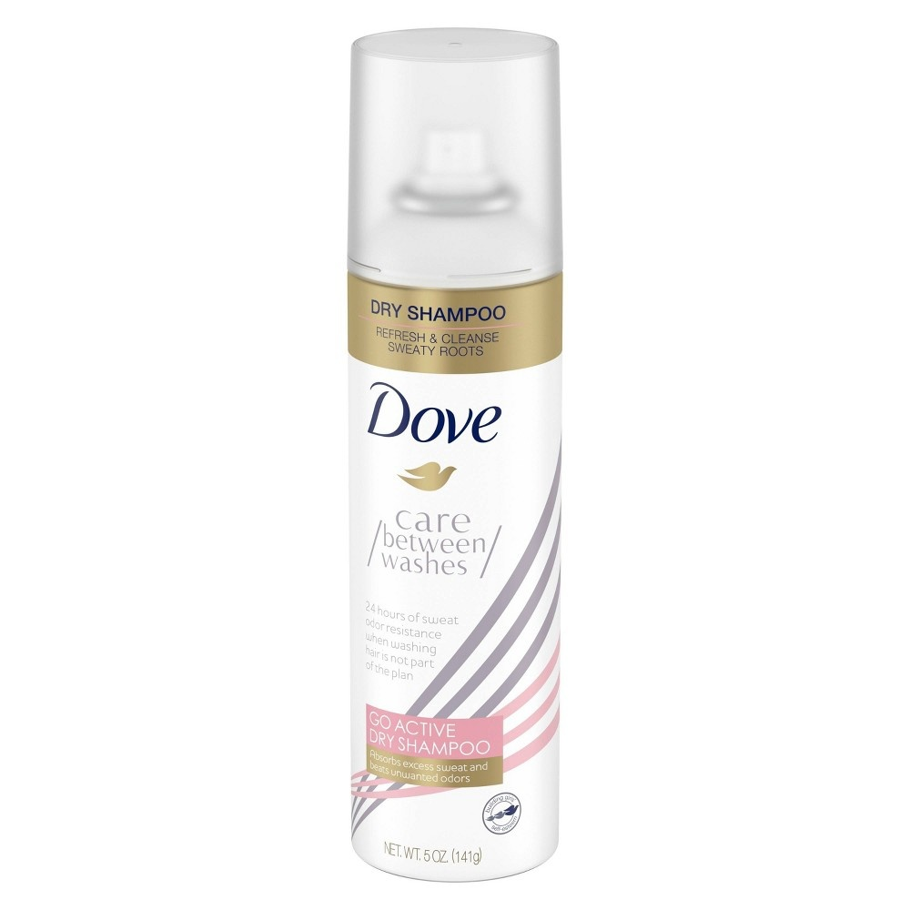 slide 3 of 4, Dove Care Between Washes Dry Shampoo Go Active, Refresh & Cleanse, 5 Oz,