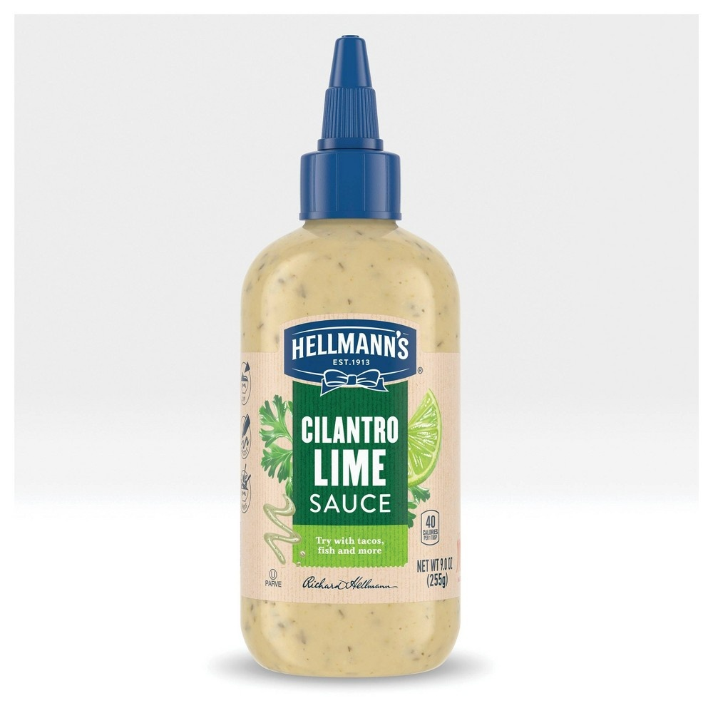 slide 6 of 8, Hellmann's Cilantro Lime Sauce,