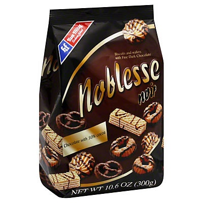 slide 1 of 1, Hans Freitag Noblesse Noir Biscuits & Wafers,