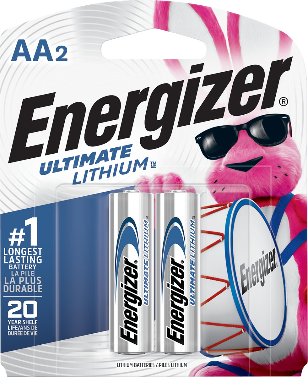 slide 2 of 3, Energizer Ultimate Lithium AA Batteries,