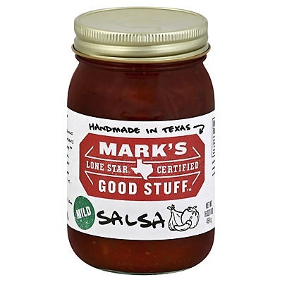 slide 1 of 1, Mark's Good Stuff Lone Star Certified Mild Salsa,