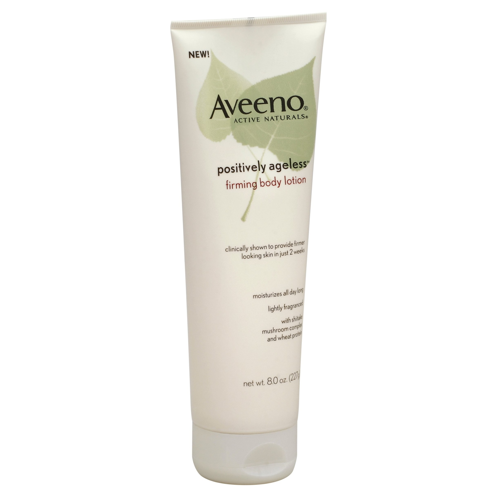 slide 1 of 3, Aveeno Positively Ageless Anti-Aging Firming Body Lotion,