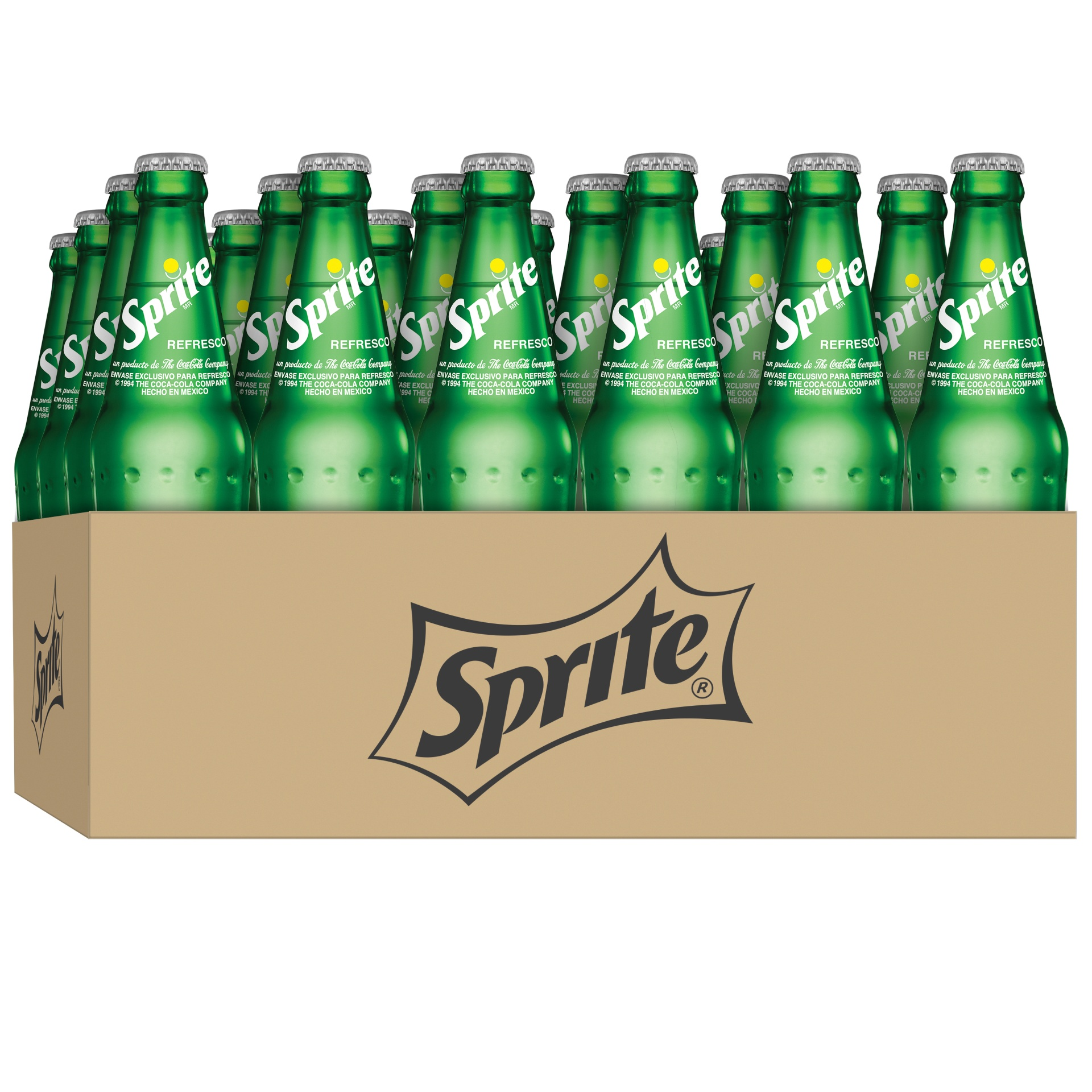 slide 1 of 1, Sprite Lemon-Lime Soda 24 Ct Plastic Bottles,
