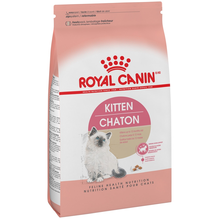 slide 2 of 9, Royal Canin Feline Health Nutrition Dry Kitten Food,