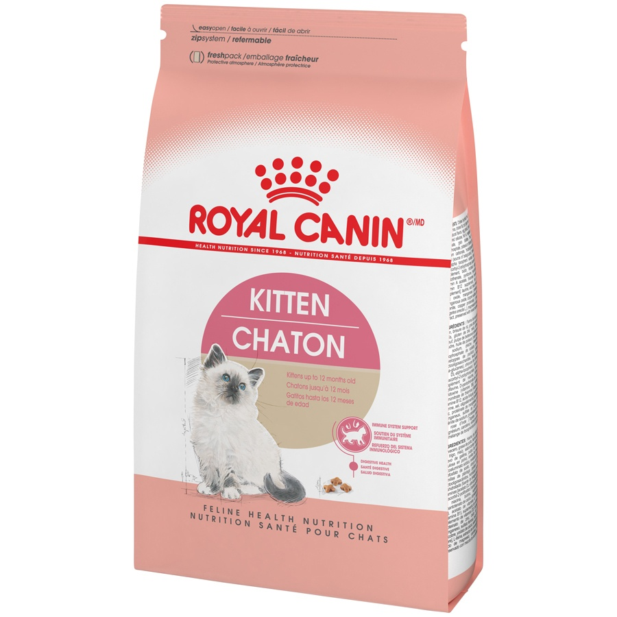 slide 3 of 9, Royal Canin Feline Health Nutrition Dry Kitten Food,