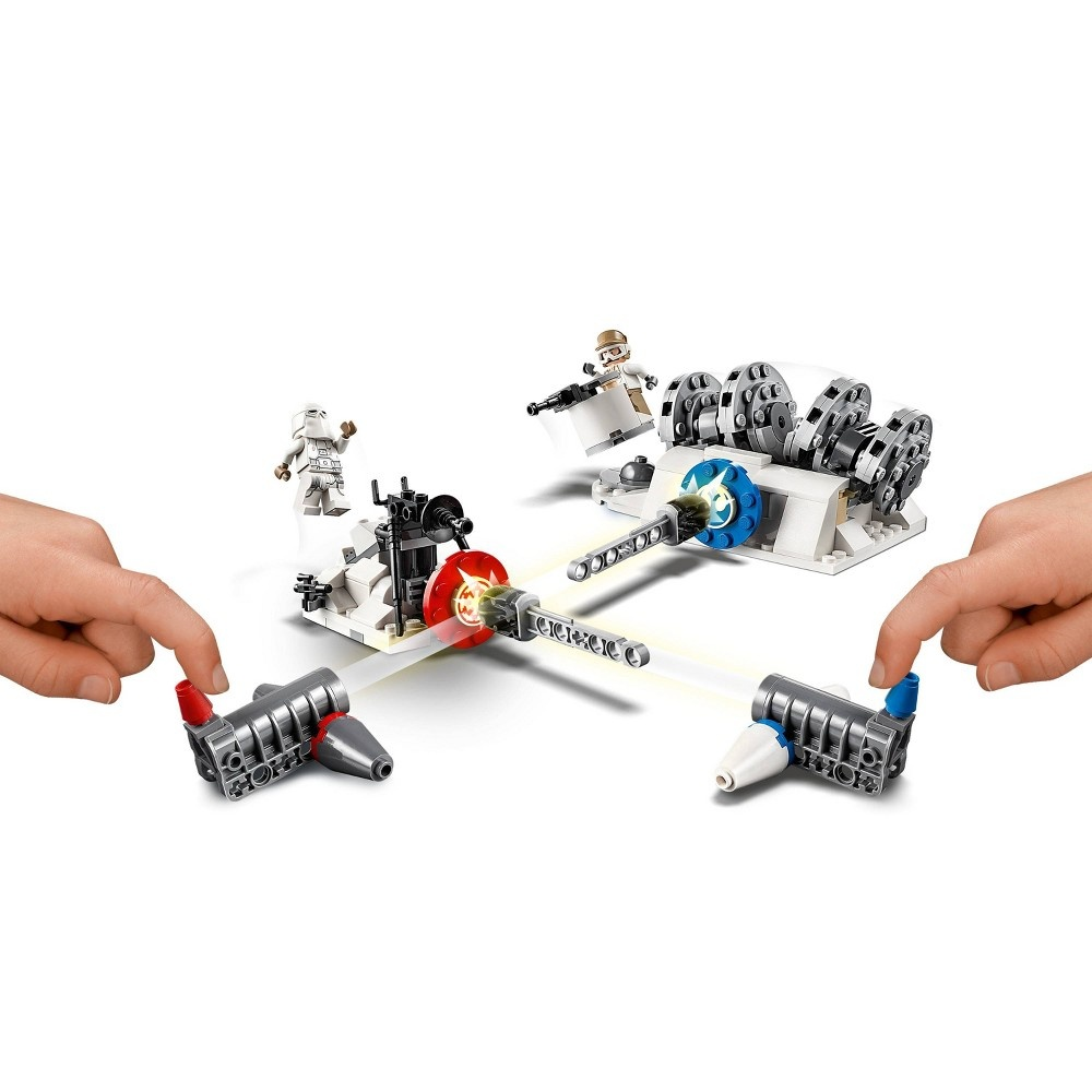 slide 6 of 7, LEGO Star Wars Action Battle Hoth Generator Attack 75239,