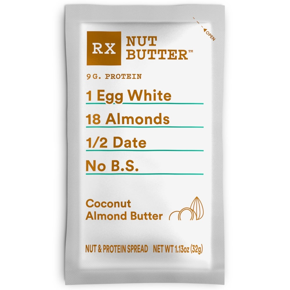 slide 1 of 1, RXBAR Nut Butter Coconut Almond Butter,