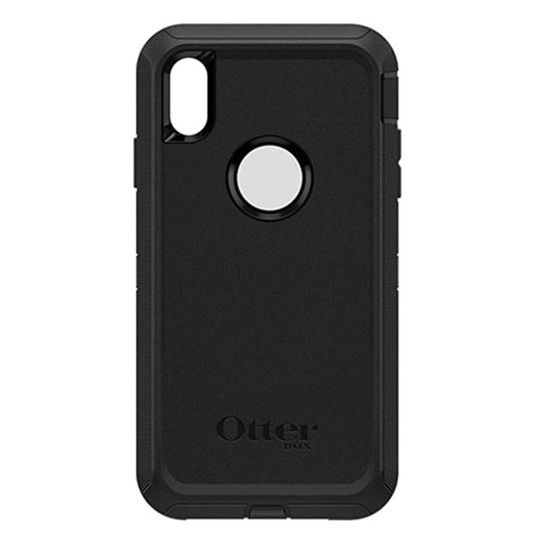 slide 1 of 2, Otterbox Defender Series Screenless Edition Case for iPhone Xs Max - Black,