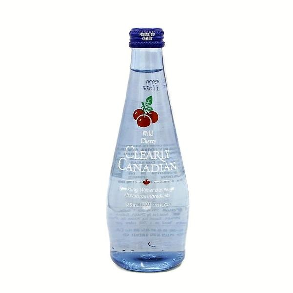 slide 1 of 1, Clearly Canadian Sparkling Water Wild Cherry,
