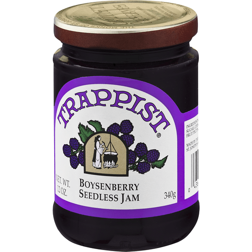 slide 4 of 8, Trappist Boysenberry Seedless Jam,