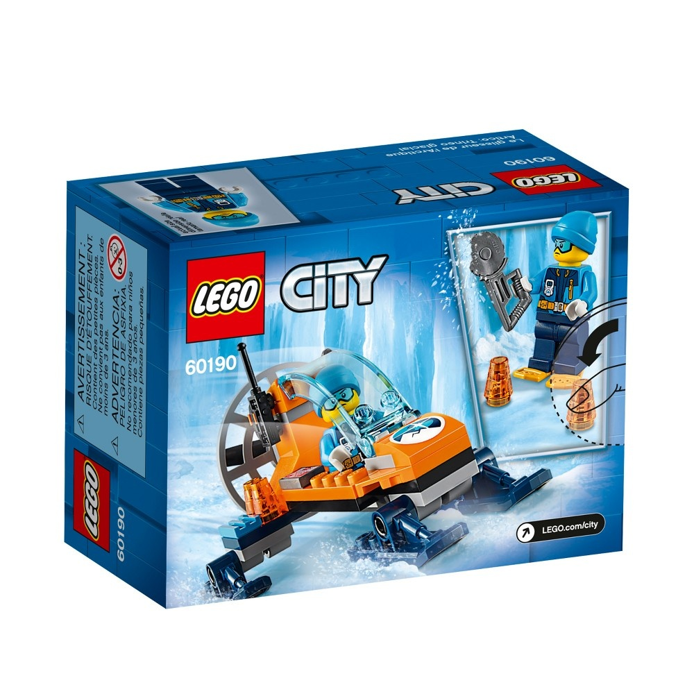 slide 6 of 8, LEGO City Arctic Expedition Ice Glider 60190,