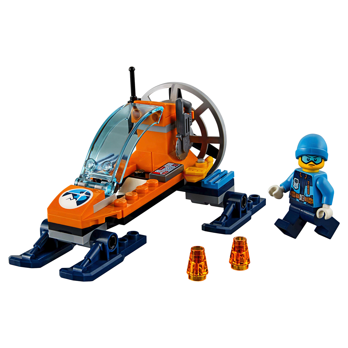 slide 8 of 8, LEGO City Arctic Expedition Ice Glider 60190,