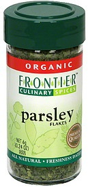 slide 1 of 1, Frontier Organic Parsley Flakes,