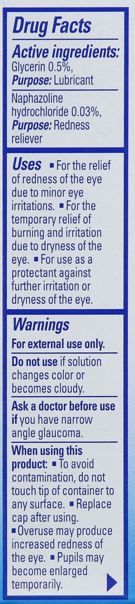 slide 3 of 4, Clear Eyes Cooling Comfort Redness Relief Eye Drops,