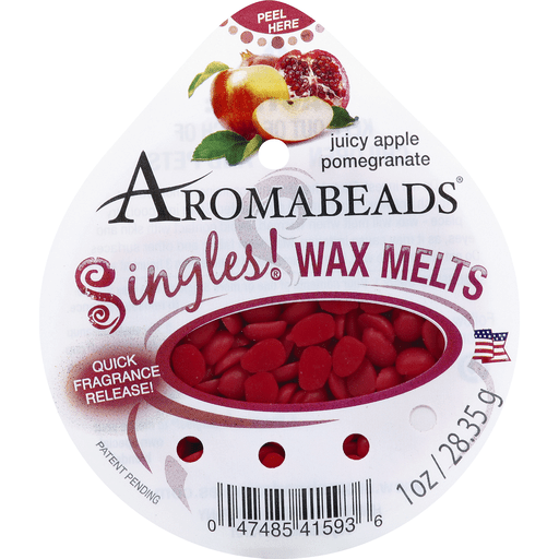 slide 2 of 2, Aromabeads Singles Wax Melts, Juicy Apple Pomegranate,