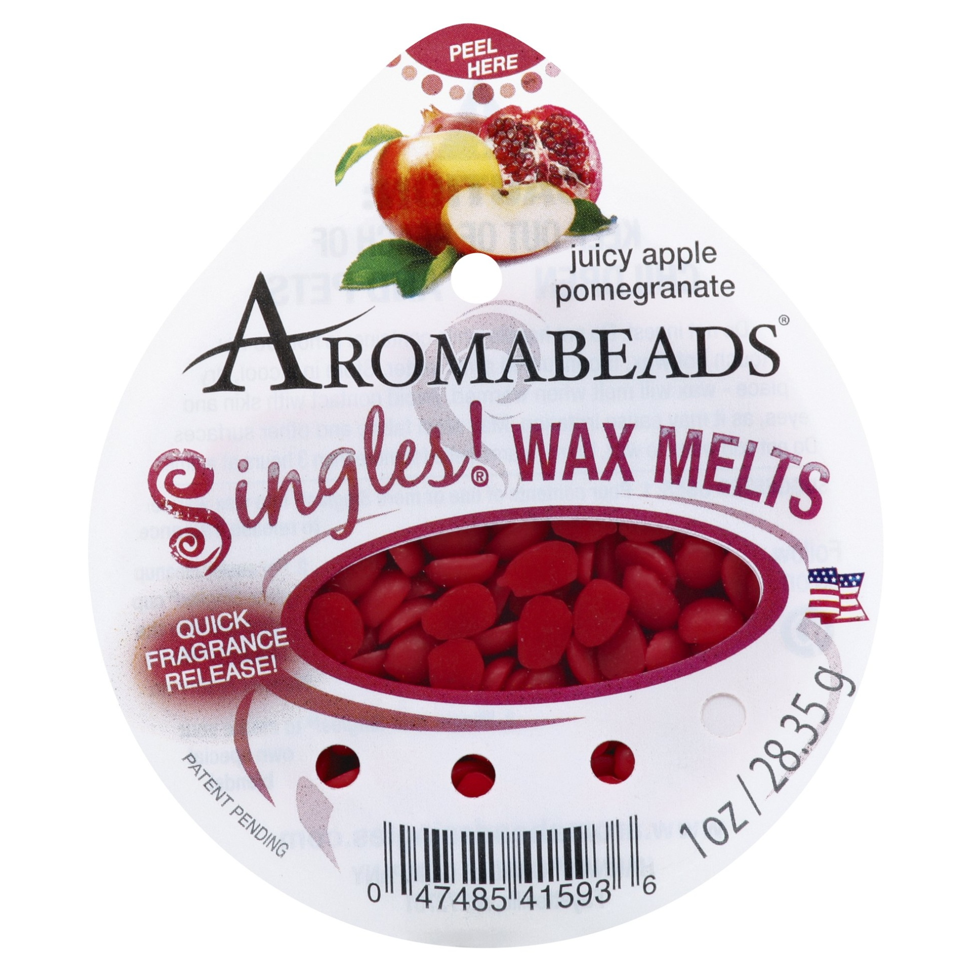 slide 1 of 2, Aromabeads Singles Wax Melts, Juicy Apple Pomegranate,