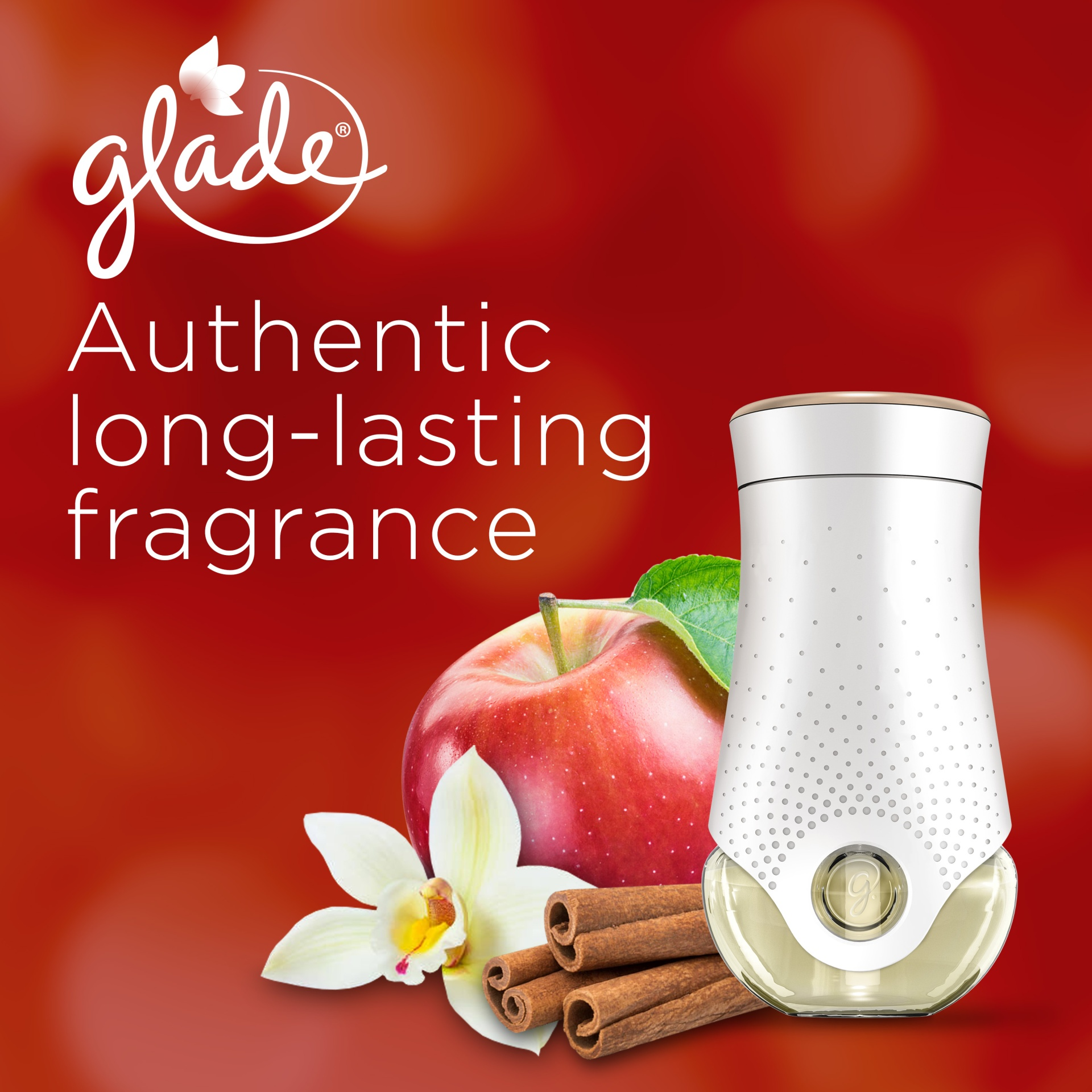 slide 3 of 7, Glade Plugins Scented Oil Apple Cinnamon Air Freshener Refill,