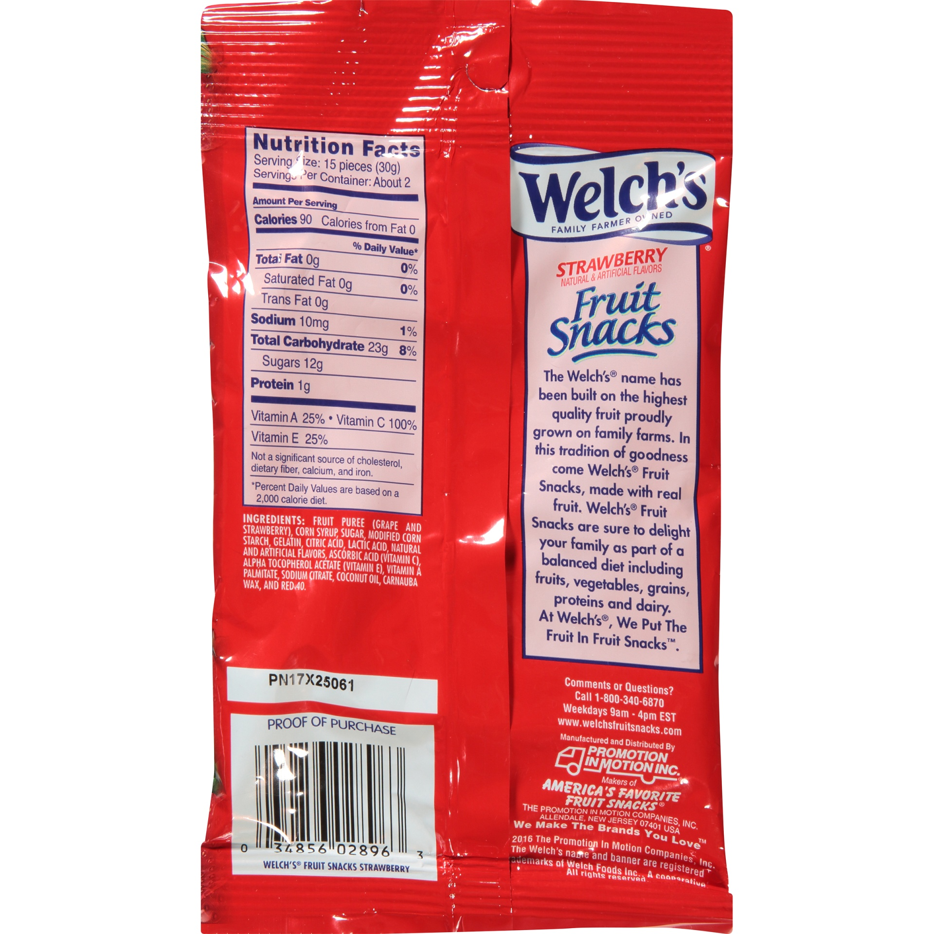slide 4 of 6, Welch's Strawberry Fruit Snacks Age,