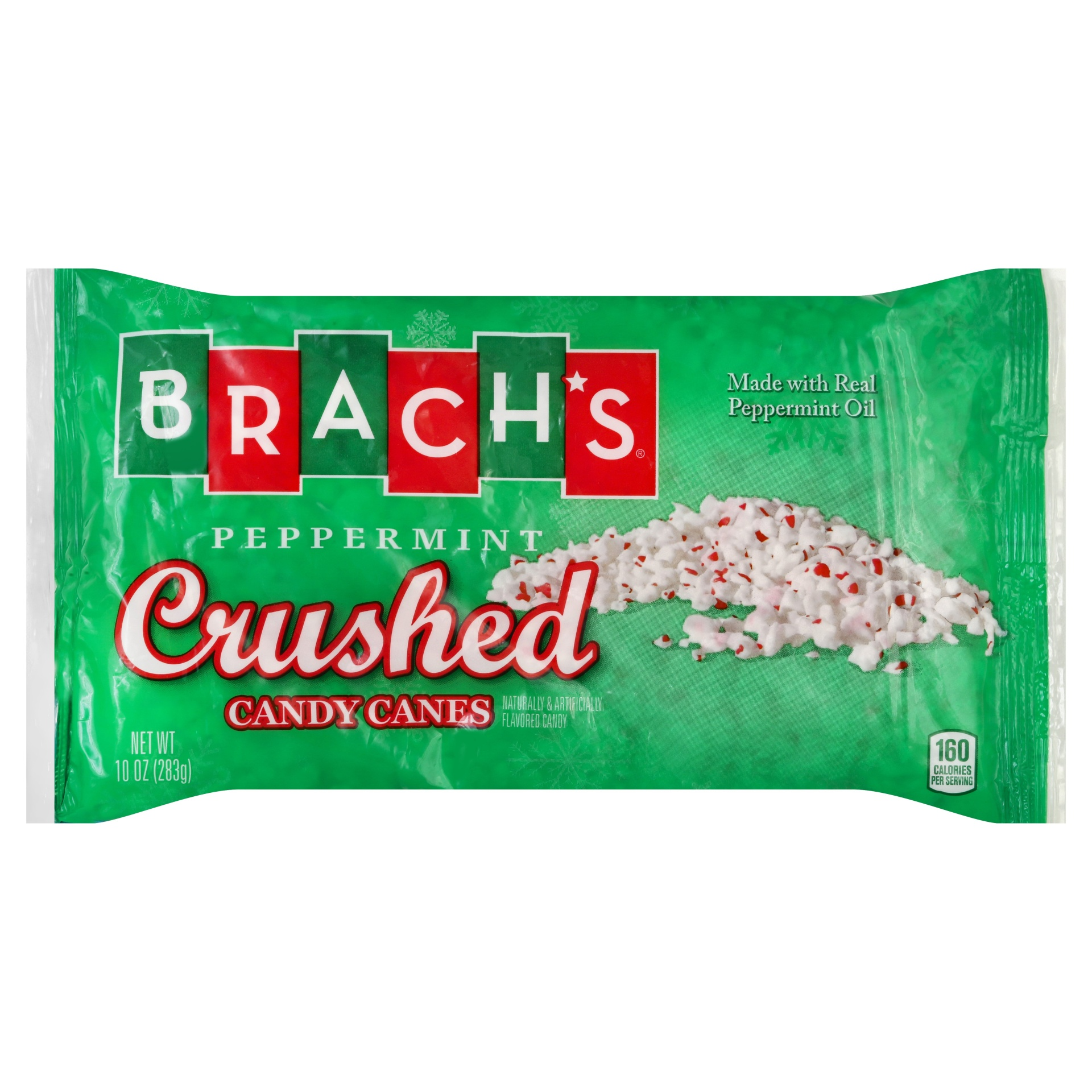 slide 1 of 2, Brach's Crushed Peppermint Candy Cane,