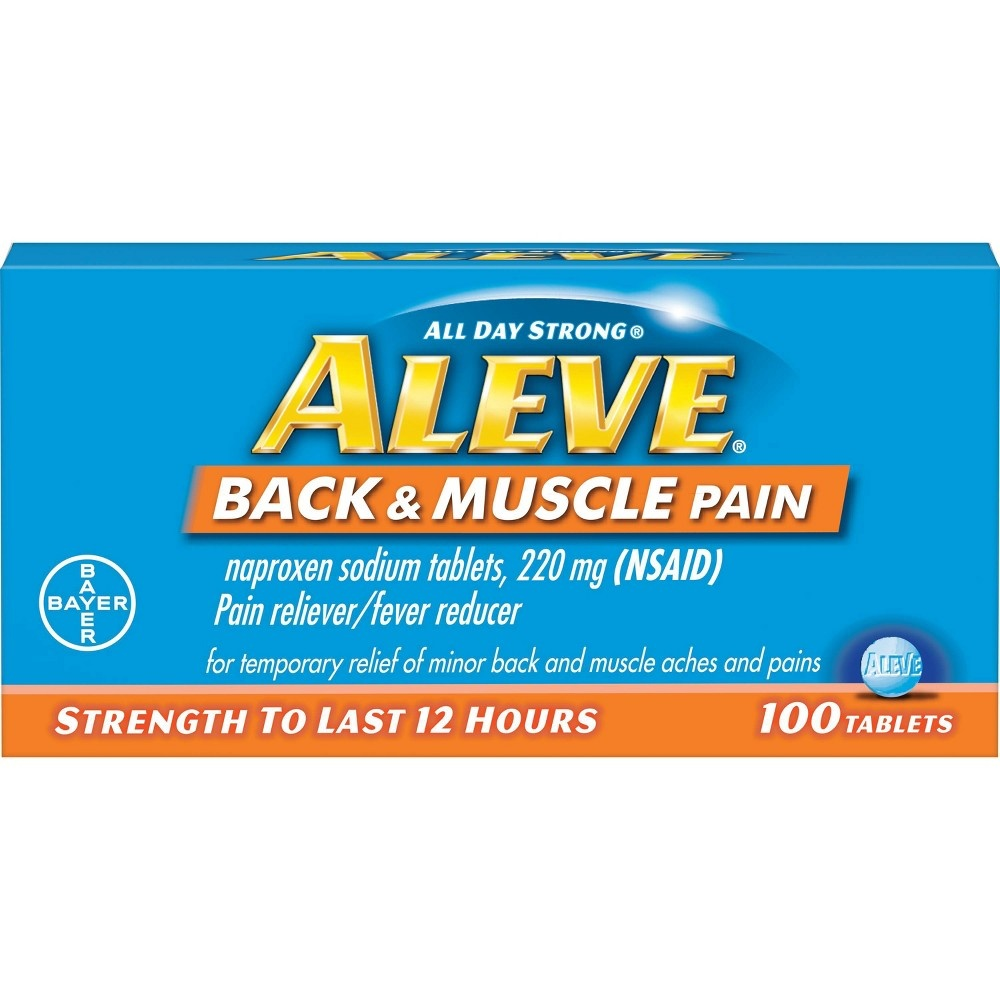 slide 3 of 4, Aleve All Day Strong Back And Muscle Pain,