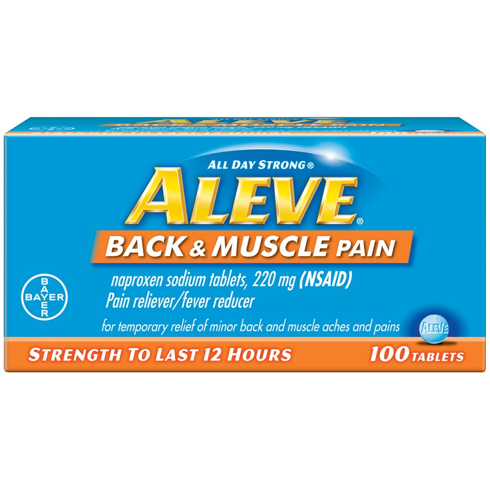 slide 1 of 4, Aleve All Day Strong Back And Muscle Pain,