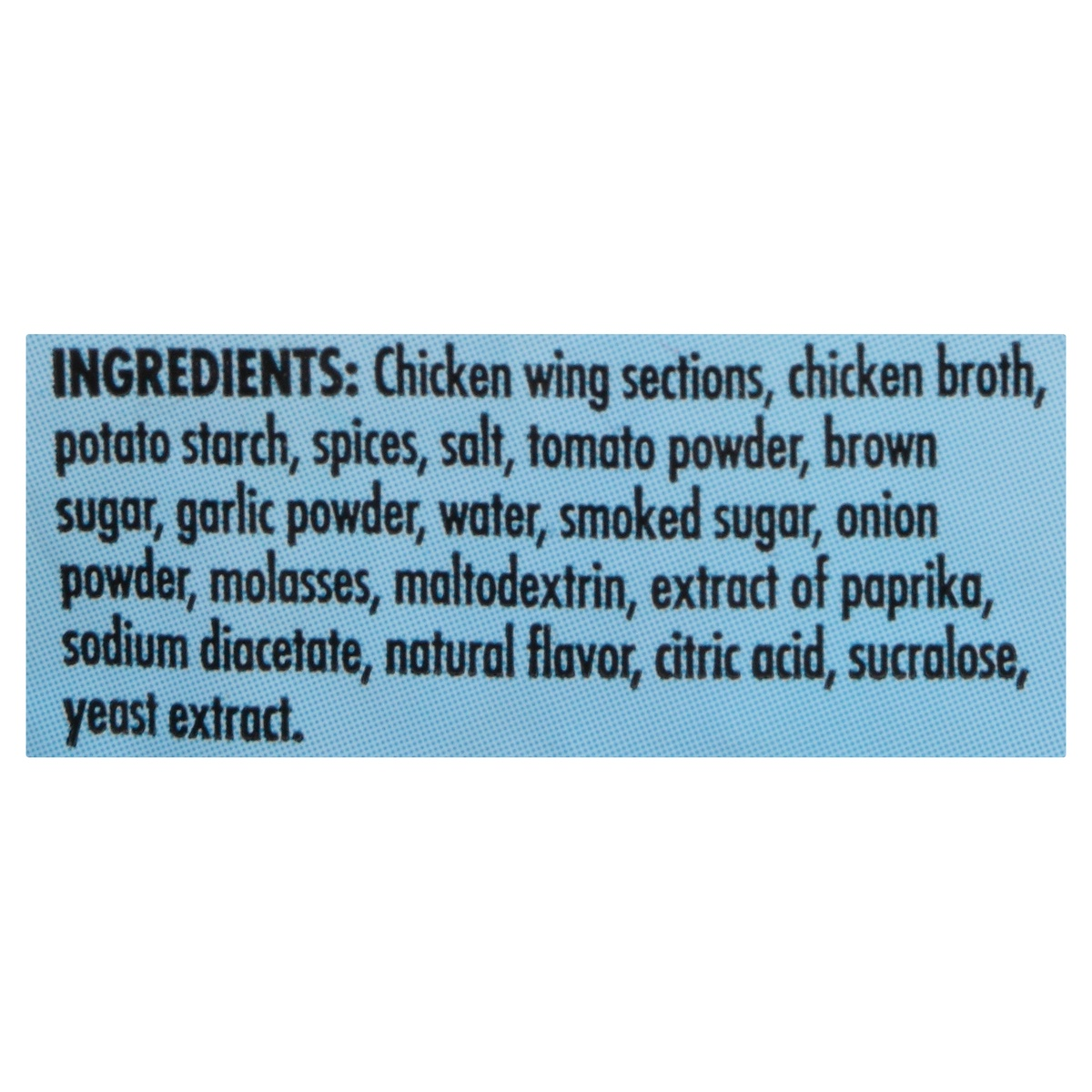 slide 2 of 3, Tyson Uncooked Smokey BBQ Chicken Wings,