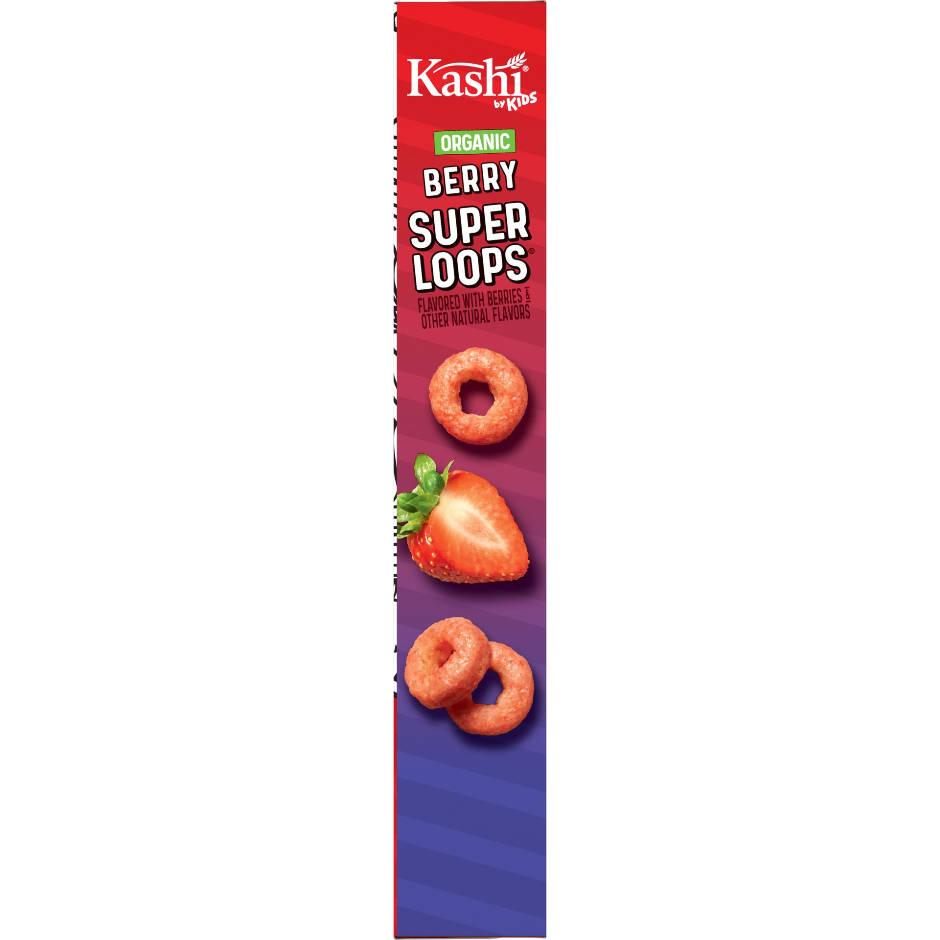 slide 4 of 7, Kashi By Kids Organic Berry Super Loops Cereal,