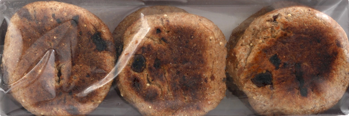 slide 6 of 10, Food for Life Cinnamon Raisin English Muffins,