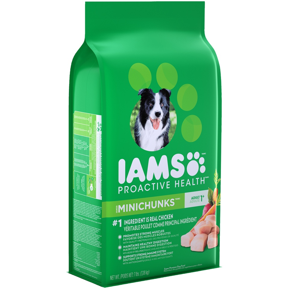 slide 2 of 9, IAMS Proactive Health Adult MiniChunks - Dry Dog Food,
