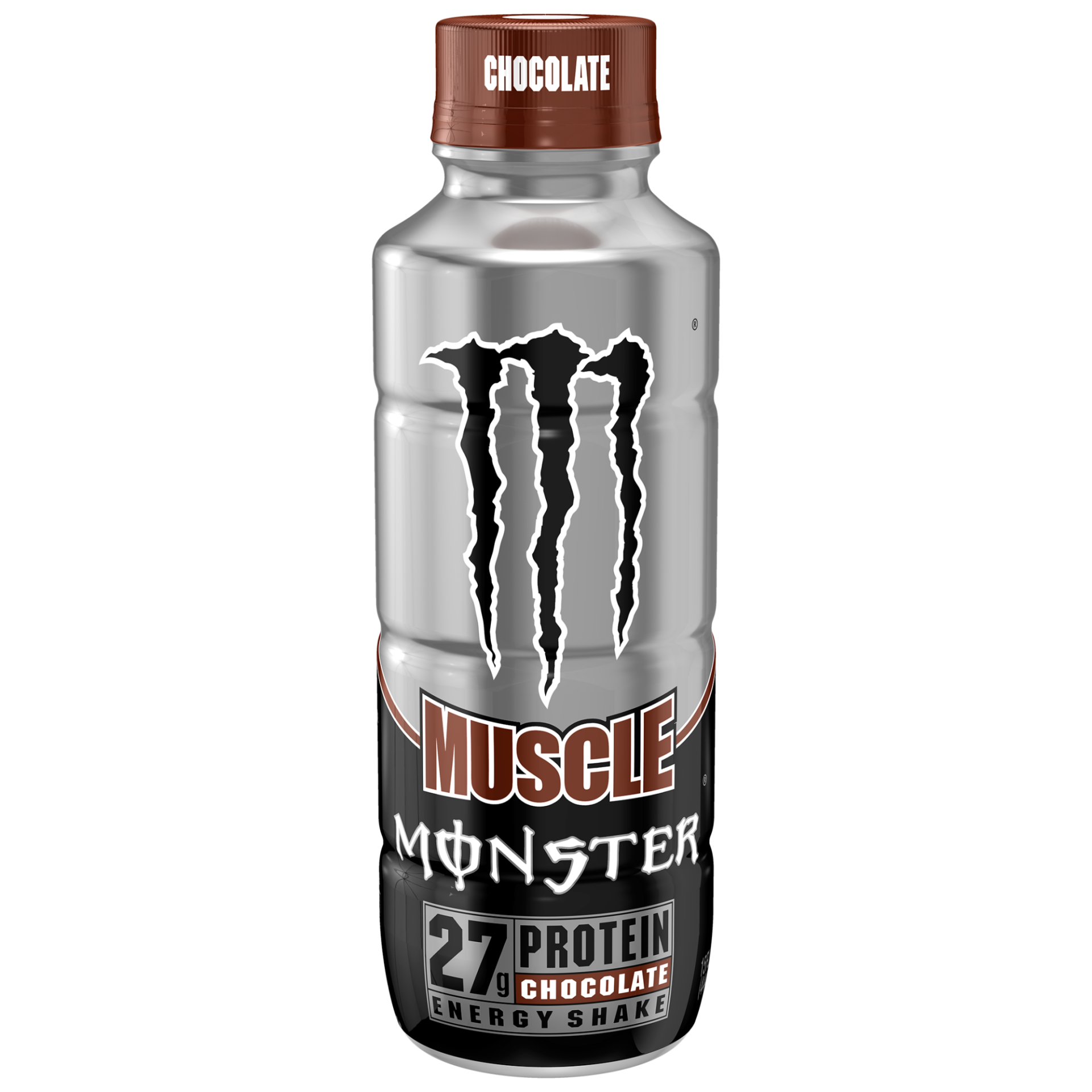 slide 1 of 4, Monster Muscle Chocolate Energy Shake,