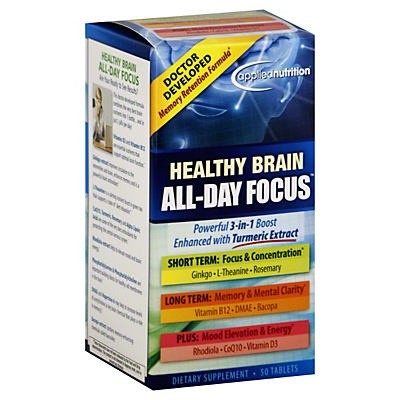 slide 1 of 1, Healthy Brain All Day Focus,
