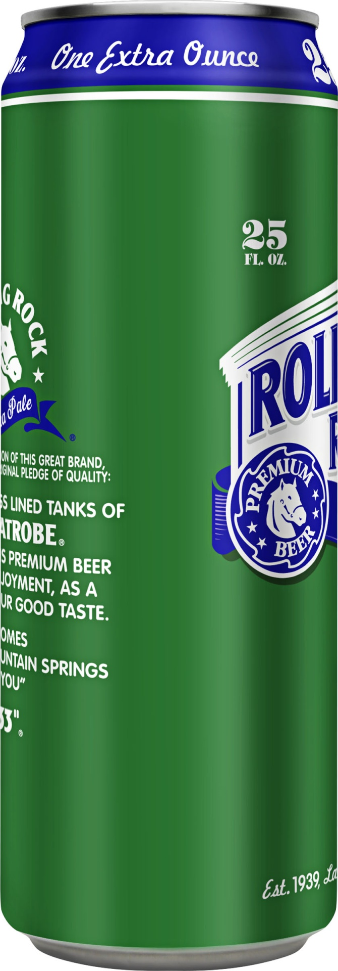slide 3 of 4, Rolling Rock Extra Pale,