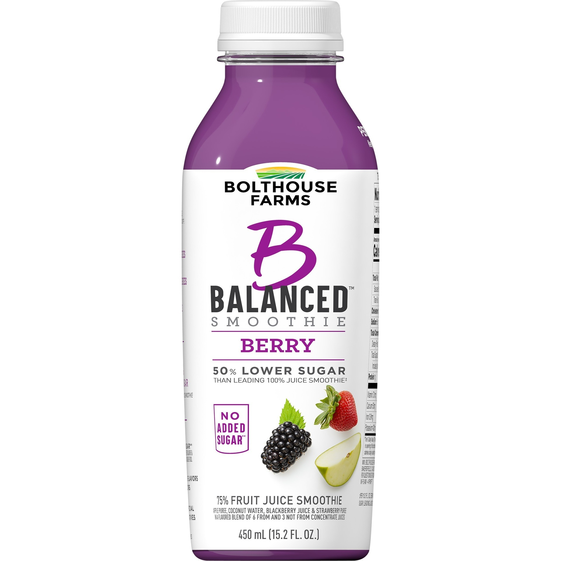 slide 1 of 7, Bolthouse Farms B Balanced Berry Smoothie,